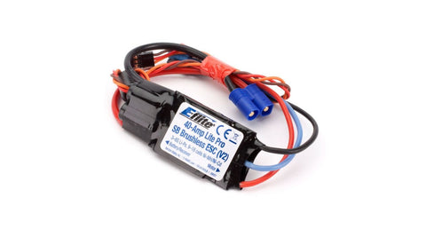 40-Amp Lite Pro Switch-Mode BEC Brushless ESC (V2) (EFLA1040LB)