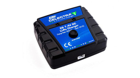 Celectra 2S 7.4V DC Li-Po Charger (power supply required)  by E-flite