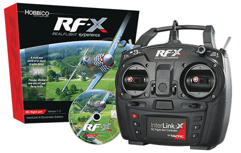 RF-X Software with InterLink-X Controller