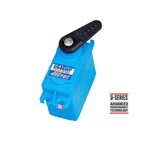 D646WP Standard Digital High Torque Waterproof Metal Gear Servo