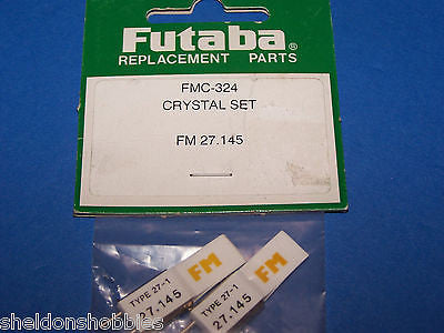 FUTABA (FM 72.145) CRYSTAL SET CHANNEL 19 #FMC-324