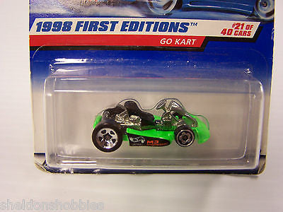 HOT WHEELS 1998 FIRST EDITIONS GO KART #651