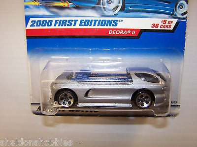 HOT WHEELS 2000 FIRST EDITIONS DEORA II #065