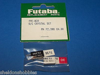 FUTABA (FM 72.390) D/C CRYSTAL SET CHANNEL 30 #FMC-830
