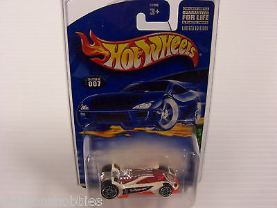 HOT WHEELS 2001 TREASURE HUNT SERIES VULTURE #007