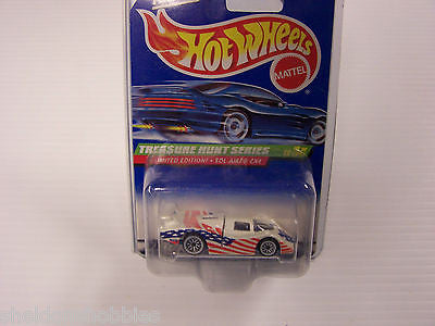 HOT WHEELS TREASURE HUNT SERIES LIMITED EDITION! SOL-AIRE CX4 COLLECTOR #757