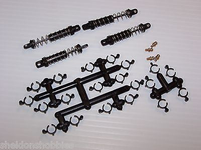TEAM LOSI DAMPER SET (4) ASSEMBLED ( 1/18 MINI T) #LOSB1039