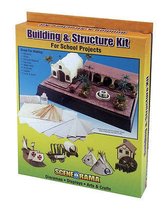 SCENEARAMA BUILDING & STRUCTURE KIT #SP4130