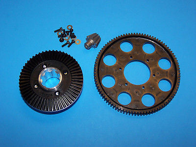 HIROBO (11T) MAIN GEAR SET - 95T #0404-555