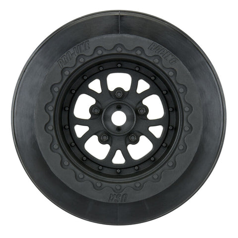 "Pomona Drag Spec 2.2 3.0"", Black: Slash 2WD Rear, 4x4 F/R"
