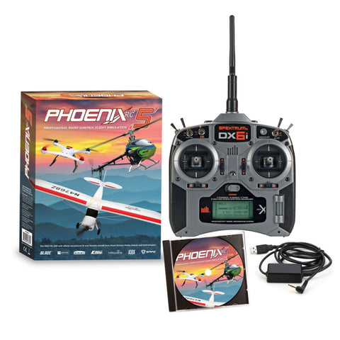 Phoenix R/C Pro Simulator V5.0 with DX6i