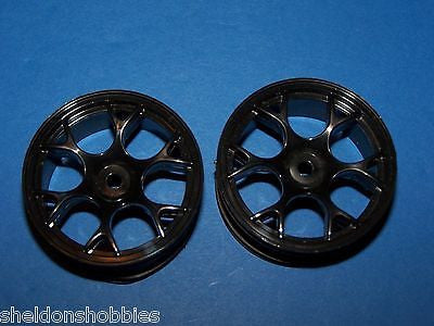 PRO-LINE STANDARD SEDAN WHEELS WARLOCK NARROW BLACK (2) #2618B
