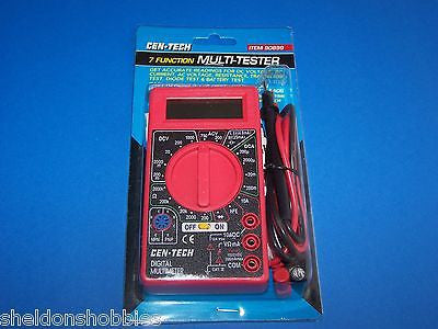CEN-TECH 7-FUNCTION DIGITAL MULTI-TESTER #90899