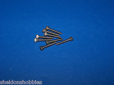 "PRATHER S/S SOCKET CAP BOLTS 4-40 X 5/8"" (8 PCS) #4085"