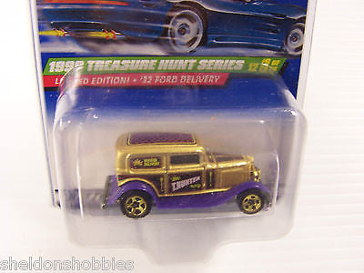 HOT WHEELS 1999 TREASURE HUNT SERIES 1932 FORD DELIVERY #937