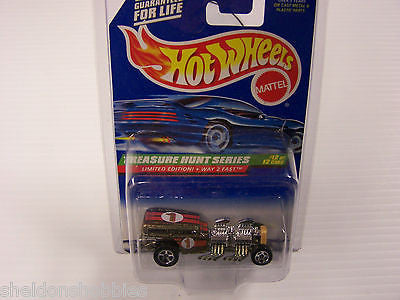 HOT WHEELS TREASURE HUNT SERIES LIMITED EDITION! WAY 2 FAST COLLECTOR #760