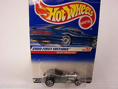 HOT WHEELS 2000 FIRST EDITIONS DEUCE ROADSTER #066