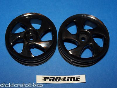 PRO-LINE (STANDARD SEDAN) TYPHOON SUPER NARROW WHEEL BLACK #2624B