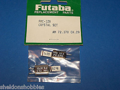 FUTABA CRYSTAL SET (AM 72.370) TX/RX CHANNEL 29 #FMC-129