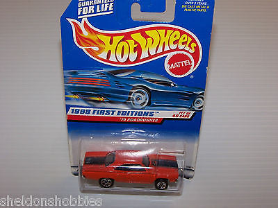 HOT WHEELS 1998 FIRST EDITIONS 1970 ROADRUNNER COLLECTOR #661