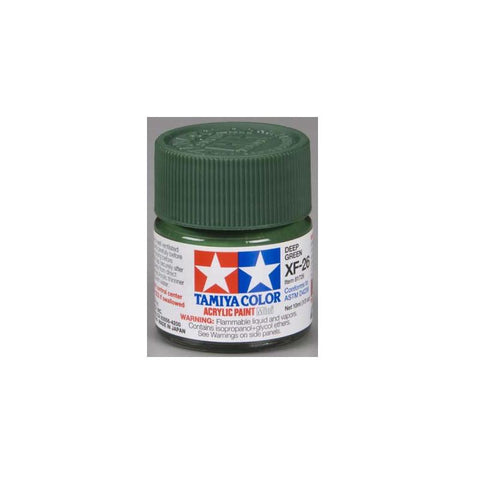 Acrylic Mini XF-26 Deep Green 1/3 oz  (TAMR1726)