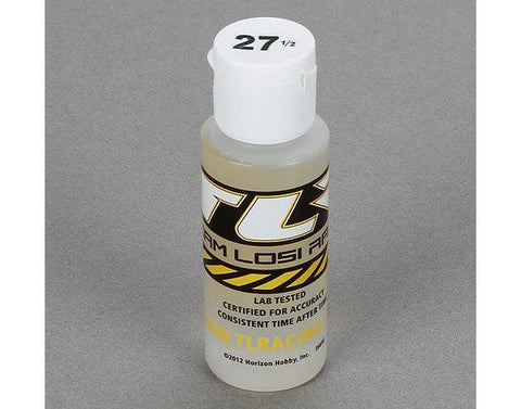 Silicone Shock Oil, 27.5wt, 2oz  by Team Losi Racing
