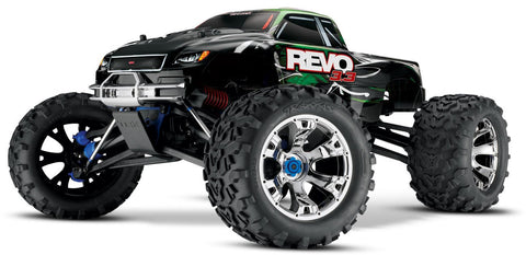 Revo 3.3 4WD Nitro Monster Truck, RTR w/ TQi 2.4GHz Radio and TSM (TRA53097-3)
