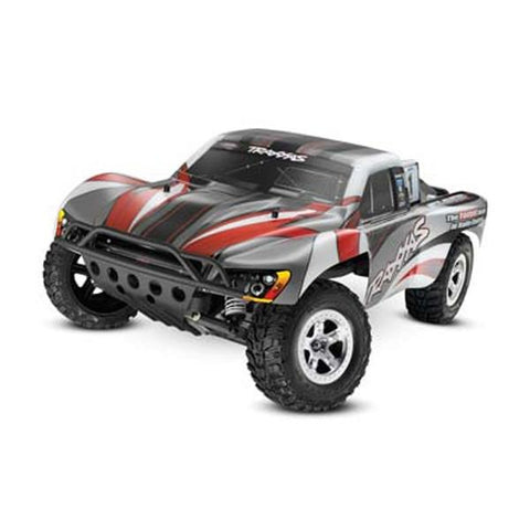 Traxxas 1/10 Slash TQ RTR Gray/Red (TRAD06ER)