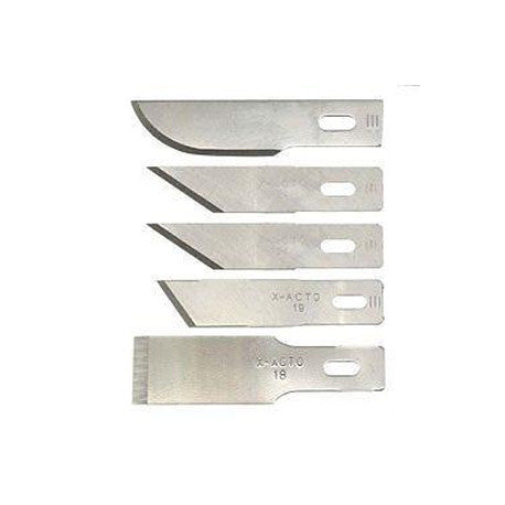 X-ACTO (X232) HEAVY DUTY BLADES ASSORTMENT (5 PCS) #32