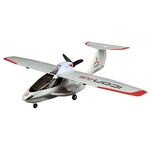 Ultra Micro ICON A5 BNF with AS3X® Technology  by ParkZone
