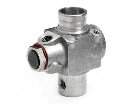 HPI 1691 Carburetor (Main Body) Silver Without Idle Screw