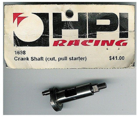 VINTAGE HPI 1698 ENGINE CRANKSHAFT CRANK SHAFT