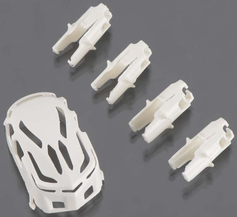 Estes Body/Motor Holder Set White Proto X/Syncro