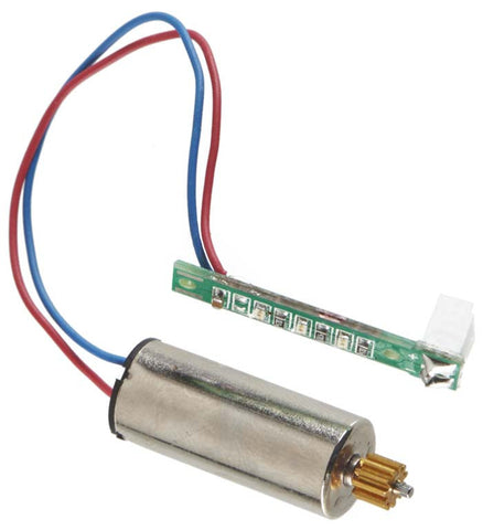 Heli-Max Right Front Motor w/LED/Pinion CW 230Si Quad