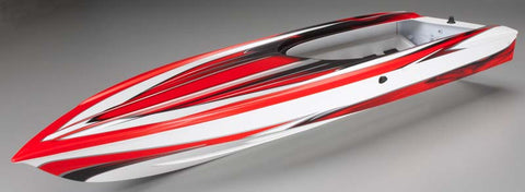 Traxxas Hull Spartan Red Graphics