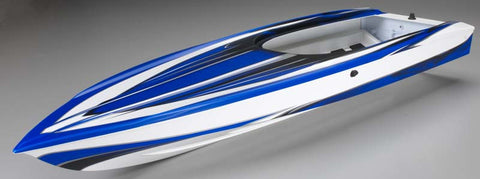 Traxxas Hull Spartan Blue Graphics