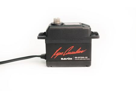 Savox - Ryan Cavalieri Edition HV Brushless Digital Servo, .095sec / 388.8oz @ 7.4V