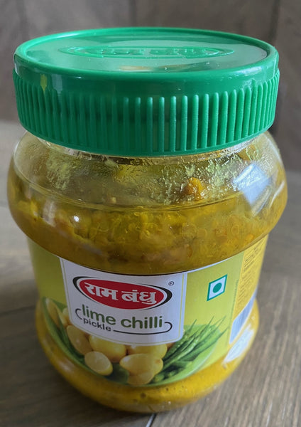 Ram Bandhu Lime Chilli Pickle