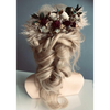 Bridal hair Comb dried flowers