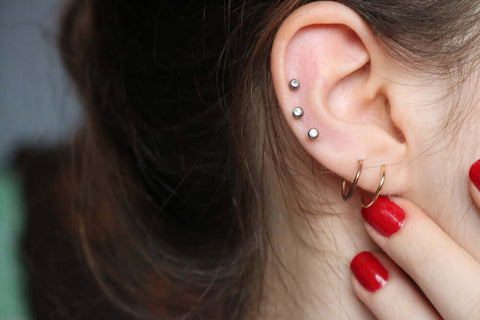 Ear Piercings Look Best Together