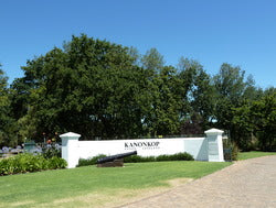 Kanonkop cannon at the entrance