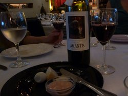 Pre-starters with Dona Maria Amantis Reserva 2007