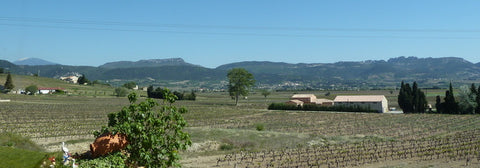 View from Domaine la Soumade