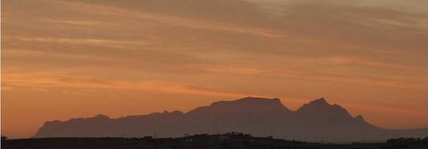 Table mountain from the East