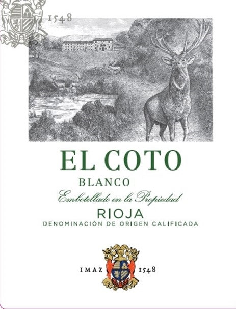 El Coto 2019 Rioja Blanco 375ml