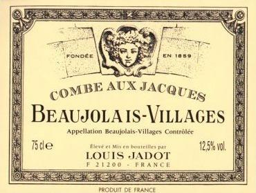 "Louis Jadot 2019 Beaujolais Villages ""Combe aux Jacques"" 375ml"