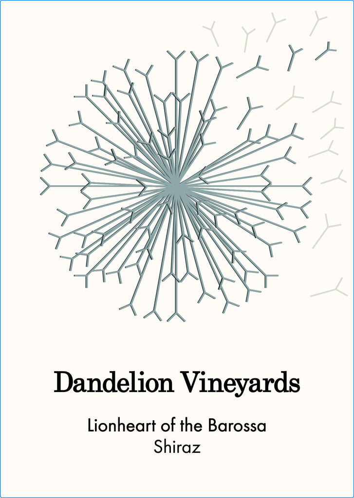 Dandelion Vineyards 2018 Lionheart of the Barossa Shiraz 375ml