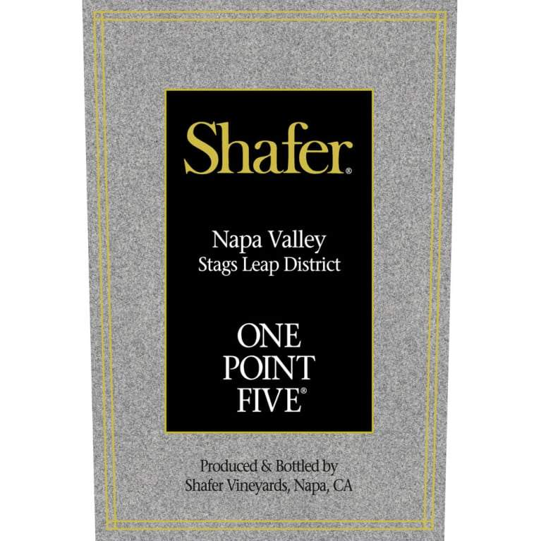 Shafer 2016 One Point Five 375ml