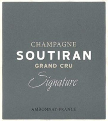 Grower Champagne - Soutiran NV Signature Grand Cru Brut 375ml