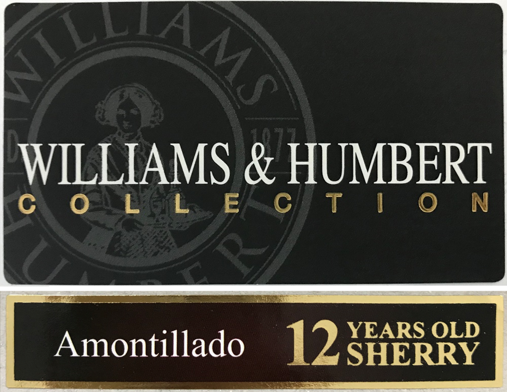 Williams & Humbert Collection 12 Year Old Amontillado Sherry 375ml